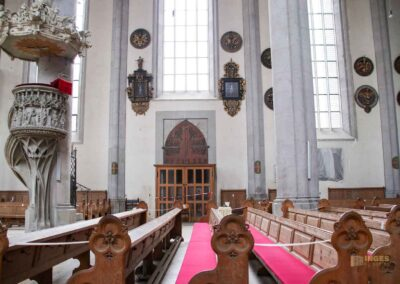 Gestühl in St. Georg in Nördlingen