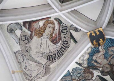 Fresko über dem Hauptaltar in St. Georg in Nördlingen