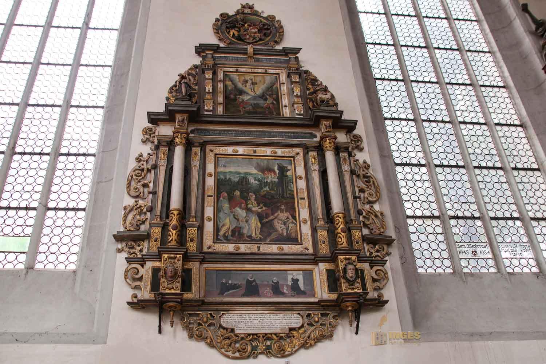 Epithaphien in der Kirche St. Georg Nördlingen