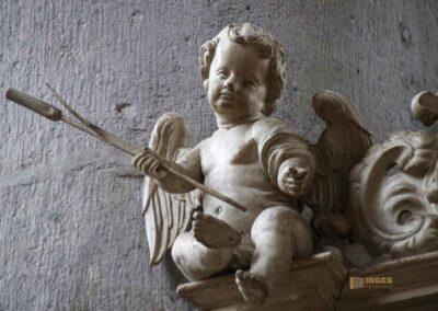 Kanzel in der Kirche St. Georg in Nördlingen