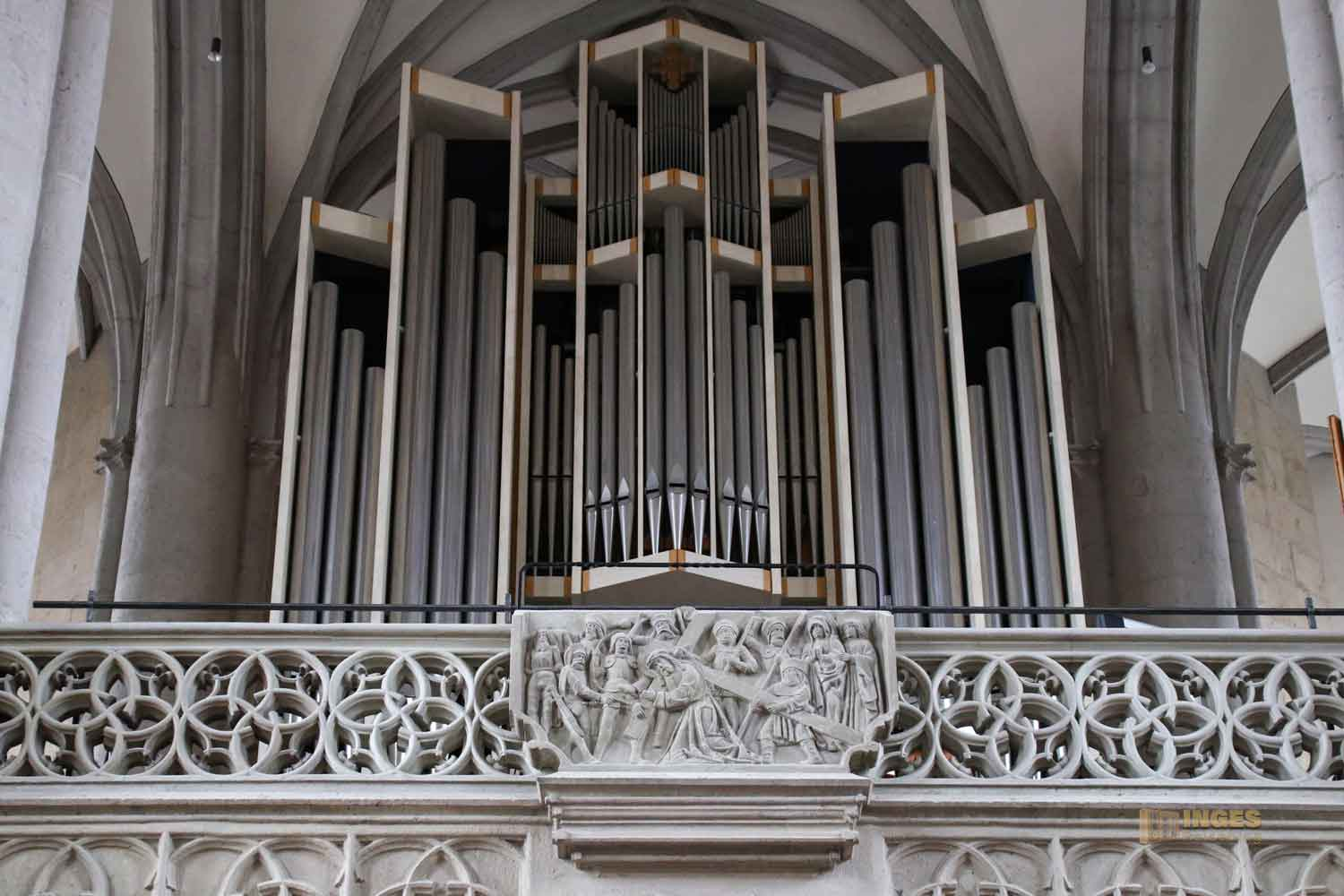 Orgel Münster St. Georg in Nördlingen 0623