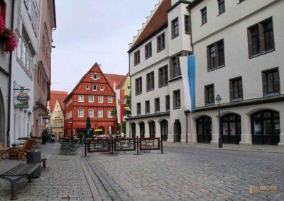 Marktplatz in Nördlingen