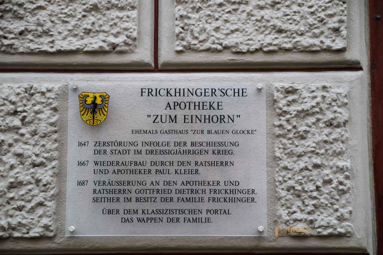Polizeigasse in Nördlingen