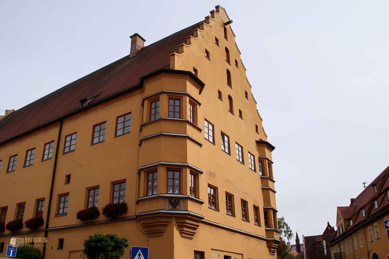 Hallgebäude in Nördlingen