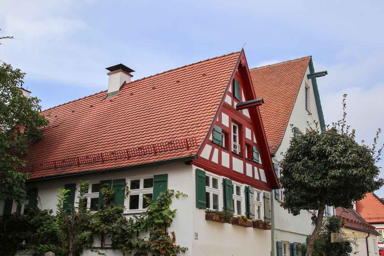 Lange Gasse in Nördlingen