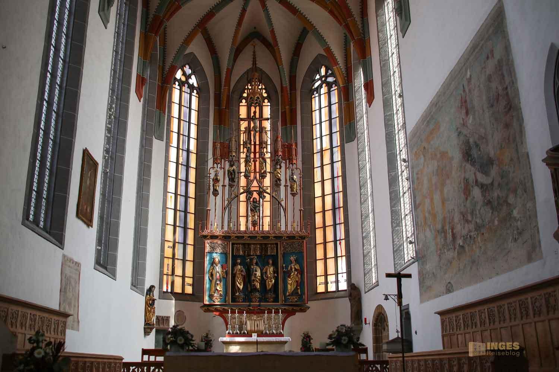 Hochaltar in der St. Salvator Kirche in Nördlingen