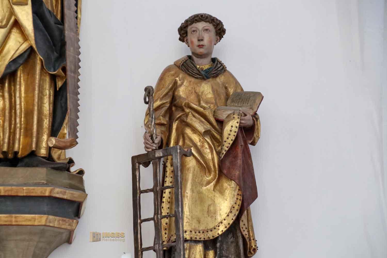Josephsaltar in der St. Salvator Kirche in Nördlingen