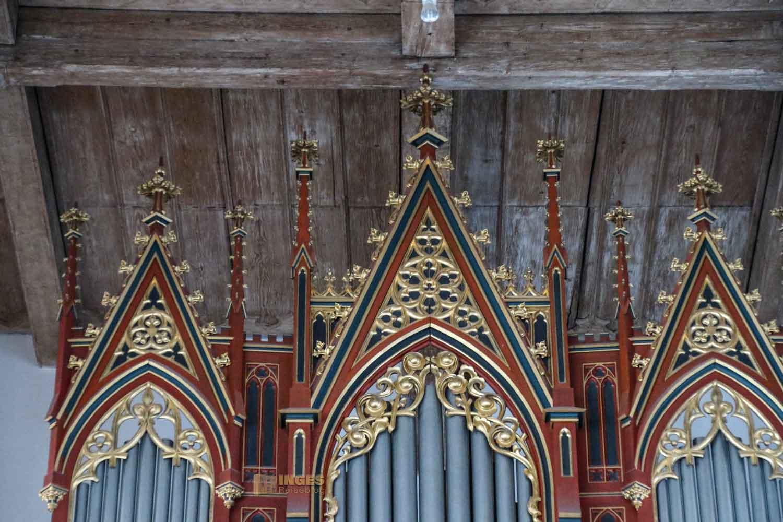 Orgel in der St. Salvator Kirche in Nördlingen