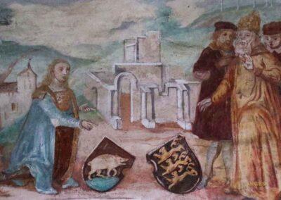 Wandmalereien in der Ulrichskapelle im Kloster Adelberg