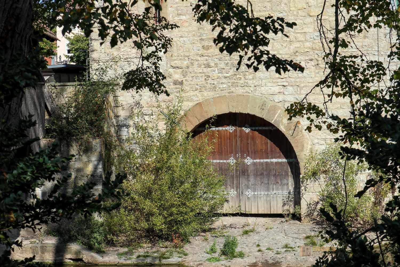 der Sulverturm mit dem Sulversteg Schwäbisch Hall