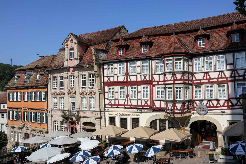 Nordseite Marktplatz Schwäbisch Hall