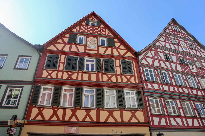 Gelbinger Gasse in Schwäbisch Hall