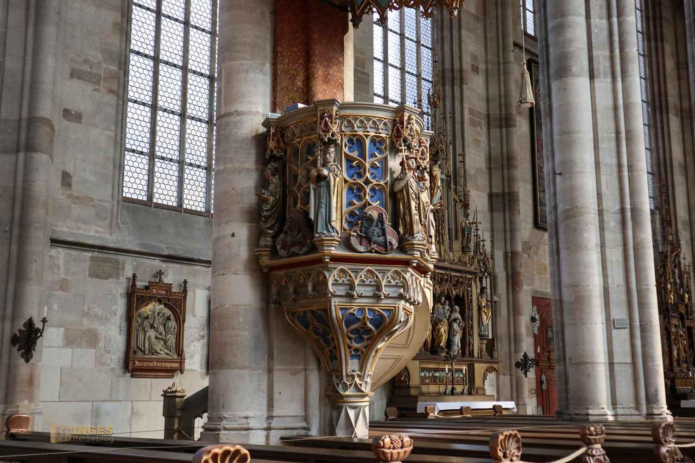 Kanzel Münster St. Michael in Dinkelsbühl