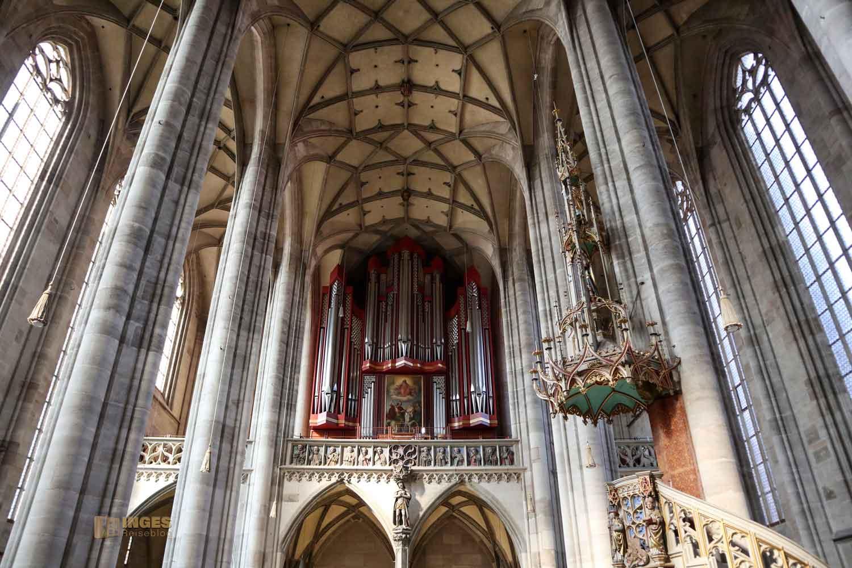Orgel Münster St. Michael in Dinkelsbühl