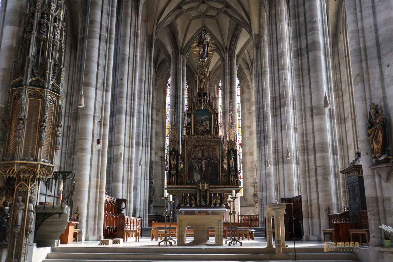 Hochaltar Münster St. Michael in Dinkelsbühl