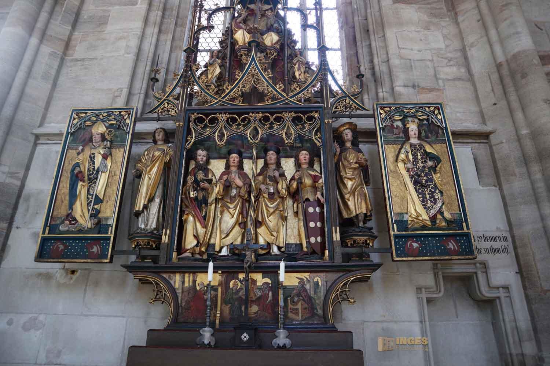 Dreifaltigkeitsaltar Münster St. Michael in Dinkelsbühl