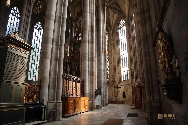 Chorumgang Münster St. Michael in Dinkelsbühl