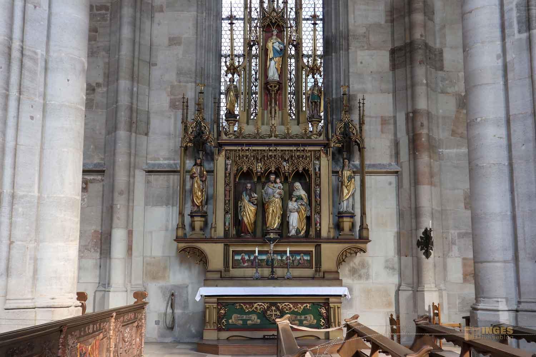 Josephsaltar Münster St. Michael in Dinkelsbühl