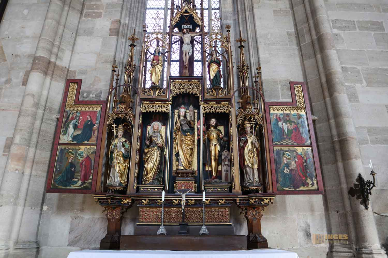 Kreuzaltar Münster St. Michael in Dinkelsbühl