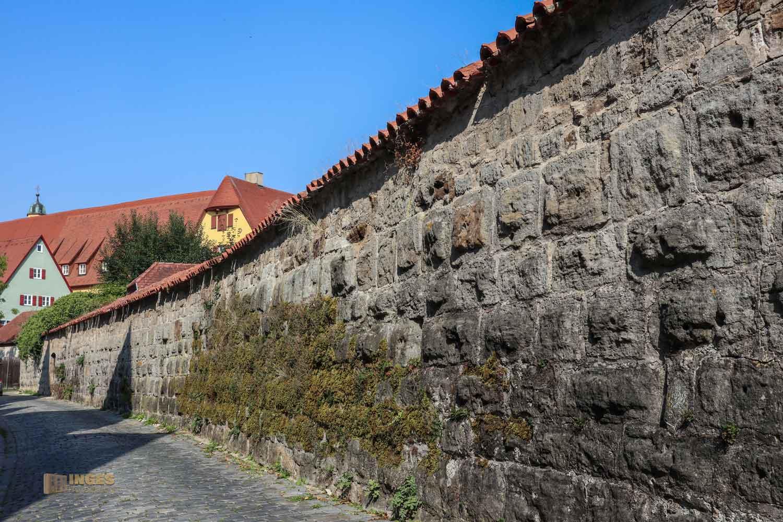 Stadtmauer in Dinkelsbühl