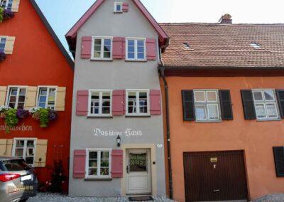 Das kleine Haus in Dinkelsbühl