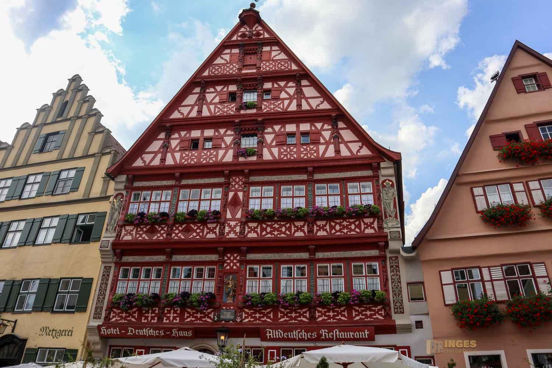 Deutsches Haus in Dinkelsbühl