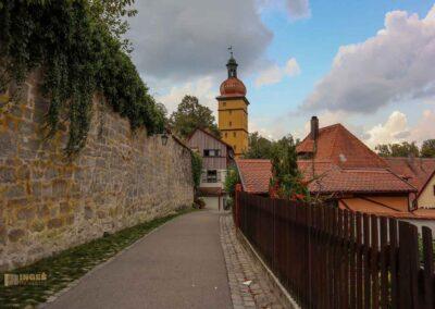 Oberer Mauerweg in Dinkelsbühl