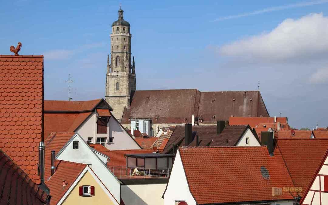 Kirche St. Georg in Nördlingen