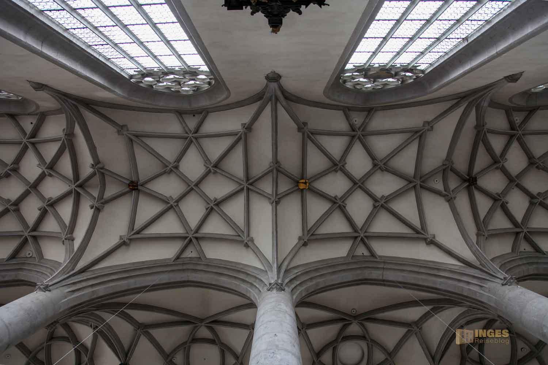 Gewölbe in St. Georg in Nördlingen
