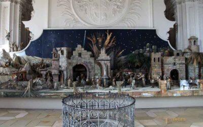 Die Weihnachtskrippe in der Wallfahrtskirche Schönenberg
