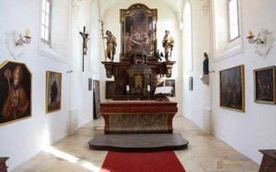 Die Schlosskapelle St. Wendelin im Schloss ob Ellwangen