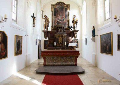 Schlosskapelle St. Wendelin im Schloss ob Ellwangen