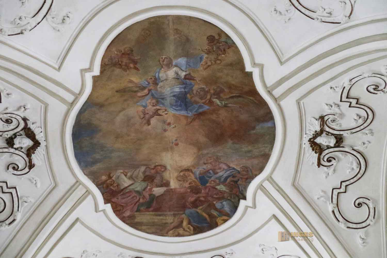 Deckenmalereien Marienkirche in Ellwangen