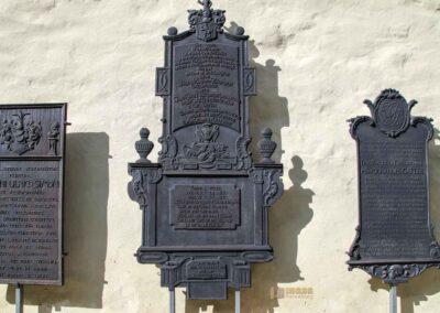Epitaphien im Kloster in Königsbronn