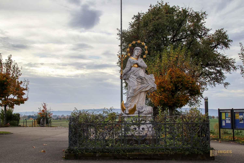 Immaculata bei der Wallfahrtskirche Schönenberg bei Ellwangen