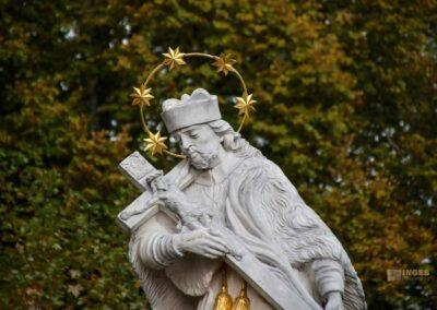 Hl. Nepomuk bei der Wallfahrtskirche Schönenberg bei Ellwangen