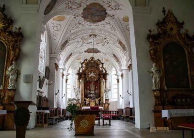 Silberaltar mit Madonna Marienkirche in Ellwangen