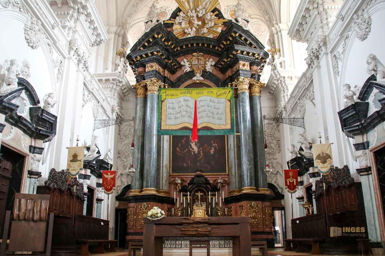 Hochaltar in der Wallfahrtskirche Schönenberg bei Ellwangen