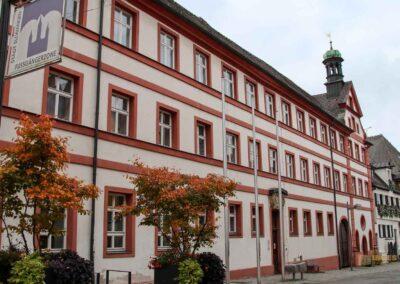 ehemalige Spital, heute Rathaus in Ellwangen a.d. Jagst