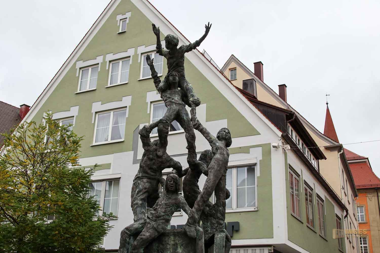Brunnen am Fuchseck in Ellwangen a.d. Jagst