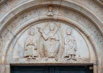 Portal Basilika St. Vitus in Ellwangen