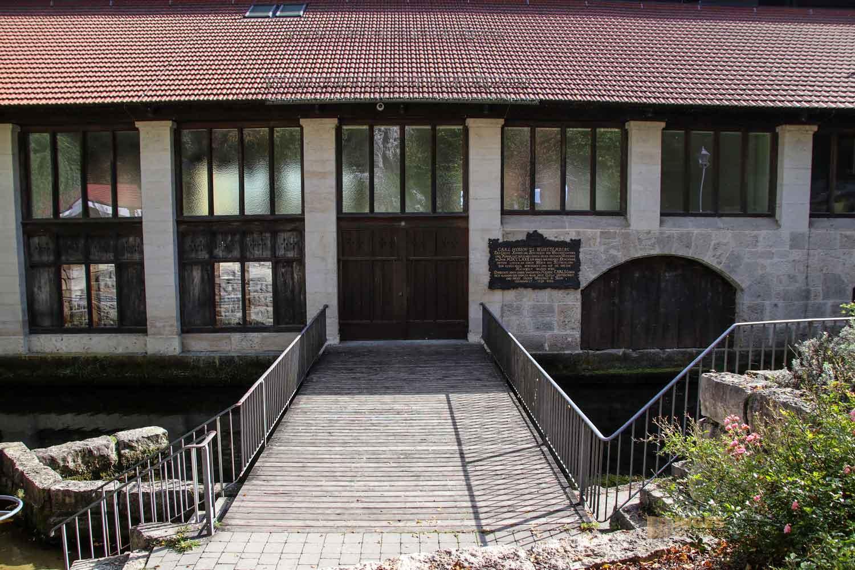 Eiserne Wasserbau in Königsbronn