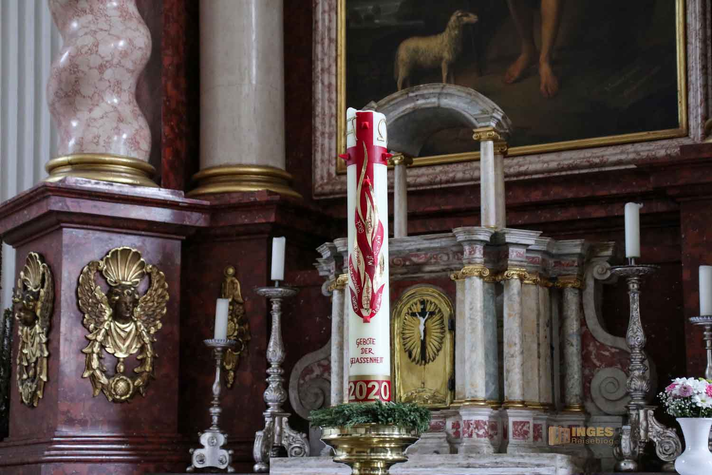Johannesaltar in der Wallfahrtskirche Schönenberg bei Ellwangen