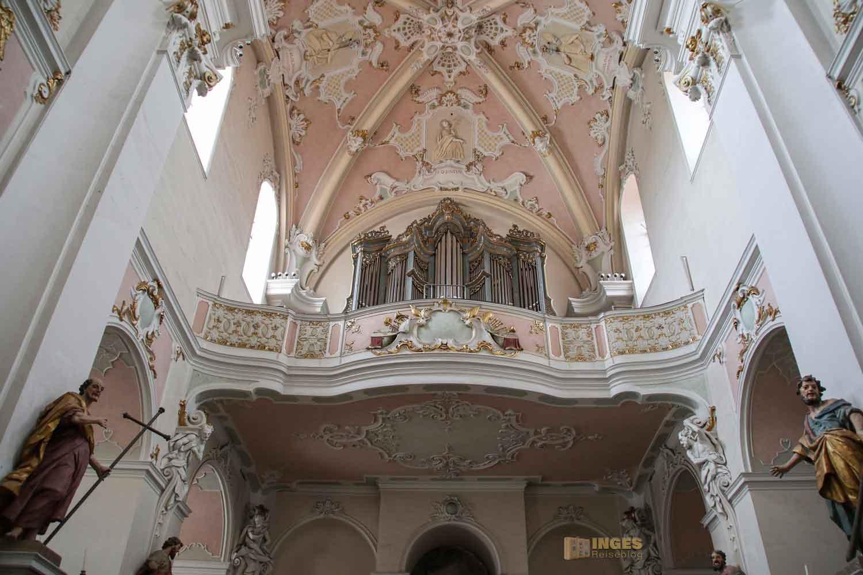 Orgel Basilika St. Vitus in Ellwangen