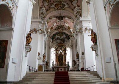 Hochaltar der Basilika St. Vitus in Ellwangen