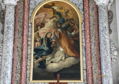 Ignatiuskapelle in der Wallfahrtskirche Schönenberg bei Ellwangen