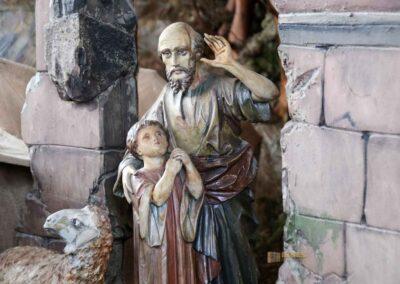 Weihnachtskrippe Wallfahrtskirche Schönenberg bei Ellwangen