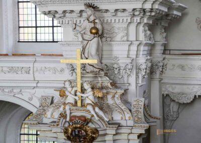 Kanzel in der Wallfahrtskirche Schönenberg bei Ellwangen