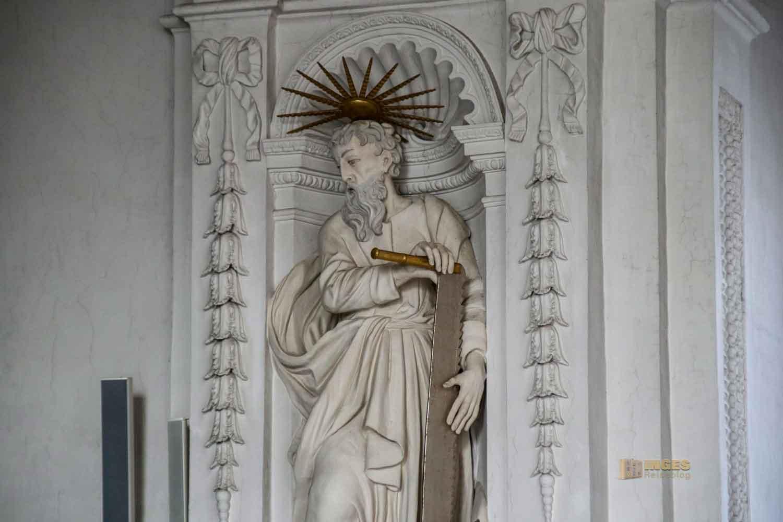 Apostelfiguren in der Wallfahrtskirche Schönenberg bei Ellwangen