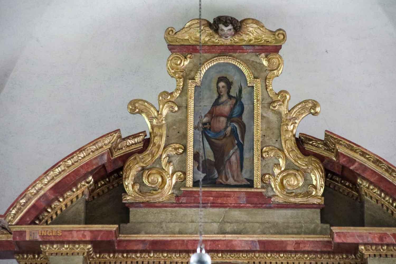 Hauptaltar in der St.-Antonius-Kapelle in Schrezheim